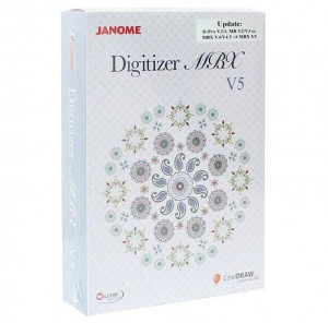Upgrade programu Janome Digitizer Pro/MB/MBX do wersji - MBX 5.0